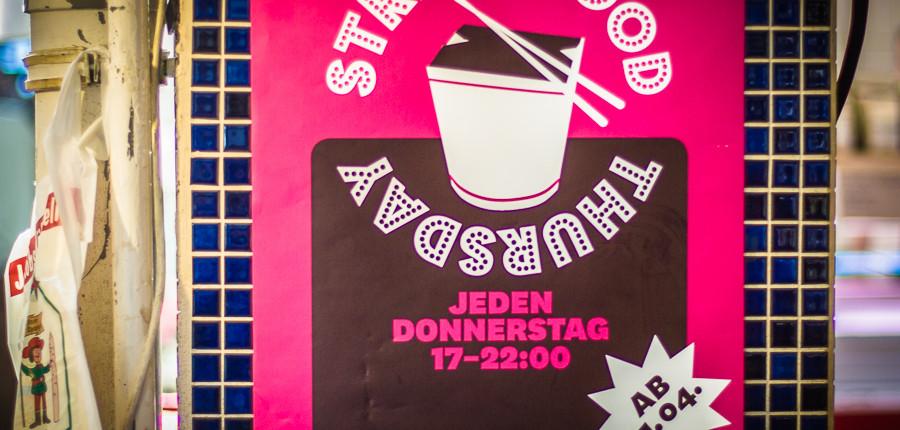 Street Food Thursday in der Markthalle Neun- jeden Donnerstag von 17.00 bis 22.00 Uhr