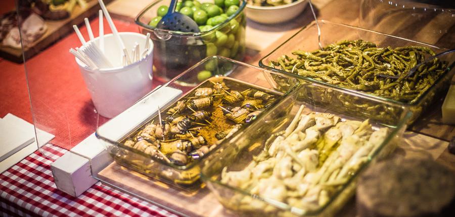 Tapas auf dem Street Food Thursday