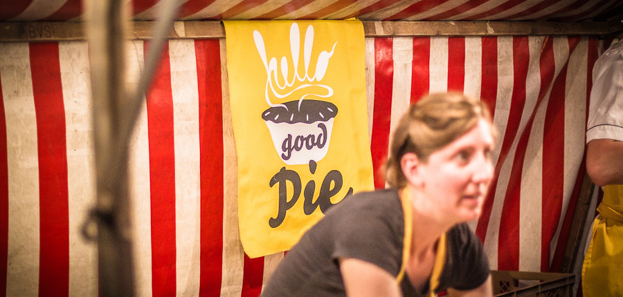 Hello Good Pie Berlin beim Street Food Thursday