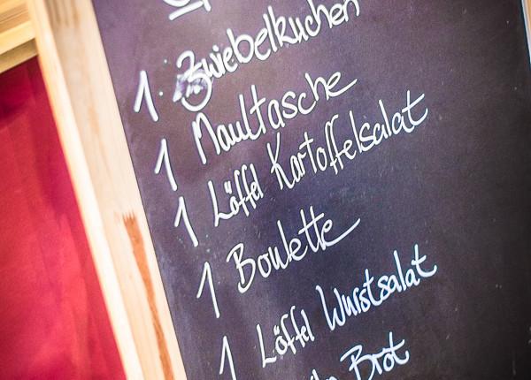 schwäbischer Spezialitätenteller von Barbaras Küche auf dem Street Food Thursday