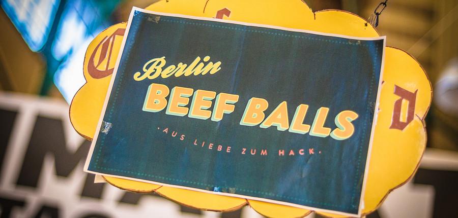 Berlin Beef Balls auf dem Street Food Thursday