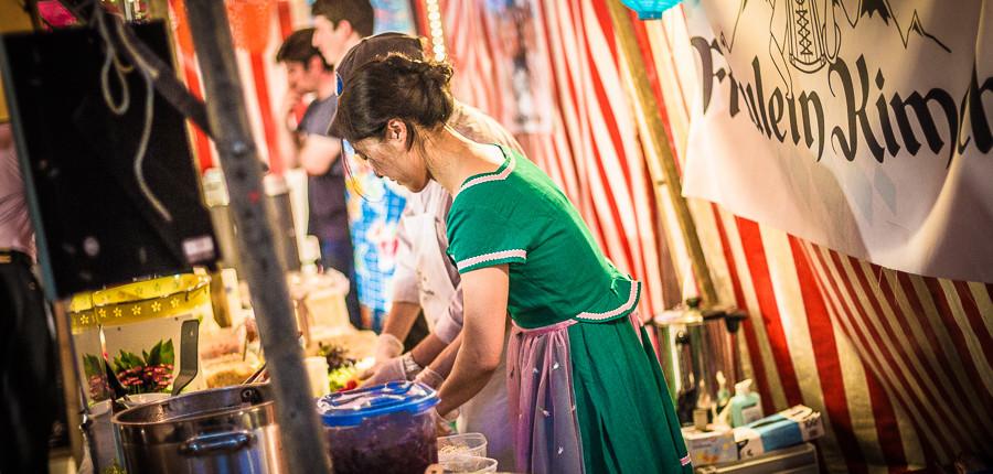 Fräulein Kimchi kocht auf dem Street Food Thursday
