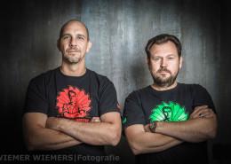 Porträt der Filmbauarbeiter aus Berlin